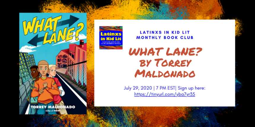 LATINXS IN KID LIT MONTHLY BOOK CLUB
